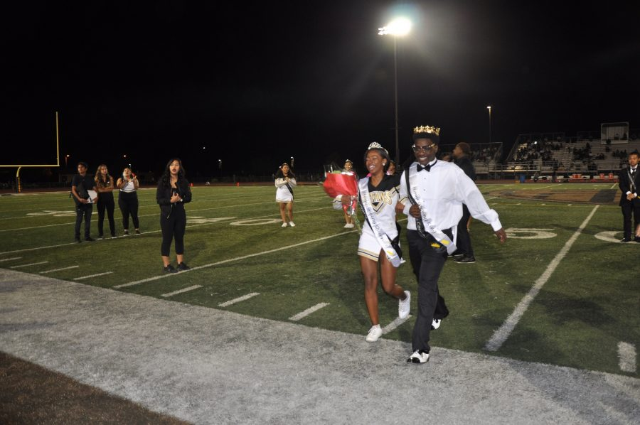 CCHS Names Their Homecoming King and Queen