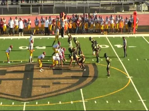 Frosh Football Dominate in Win
