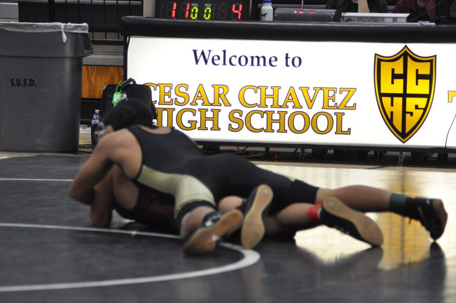 Chavez's Productive Wrestling Season