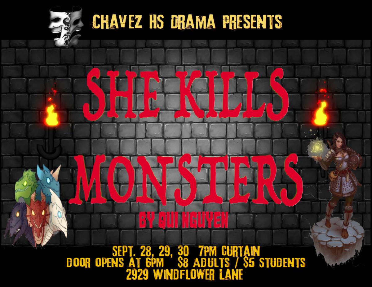 She Kills Monsters coming to Chavez