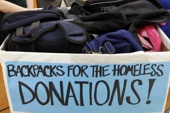 Mrs. Rodgers Backpack Donation