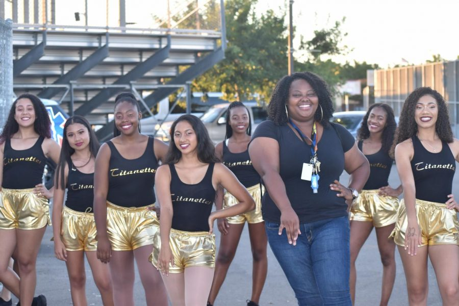 Welcome Our All New Drill Team, The Titanettes!