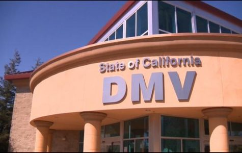 State of California DMV locations across the county.