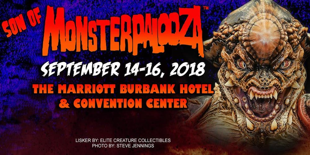 Don't miss Monsterpalooza on September 14-16!