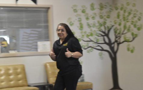 Mrs. Rivera excited about Skills USA results.