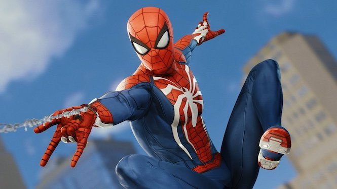 Spider-Man+Ps4+-Swinging+into+Action