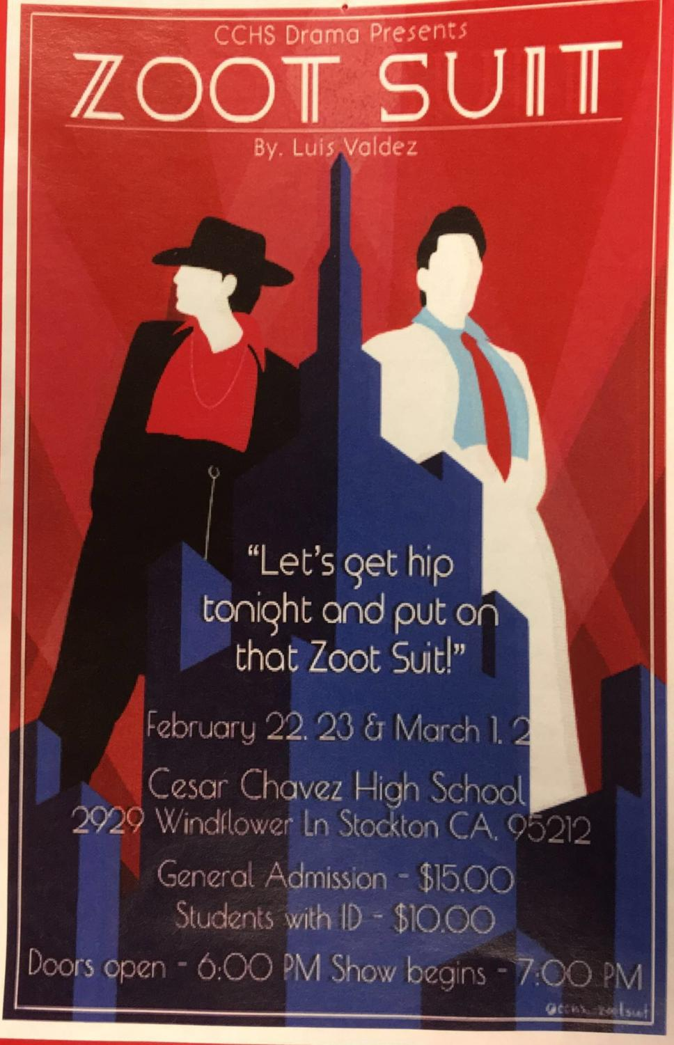 Opening night is Thursday 2/21/19