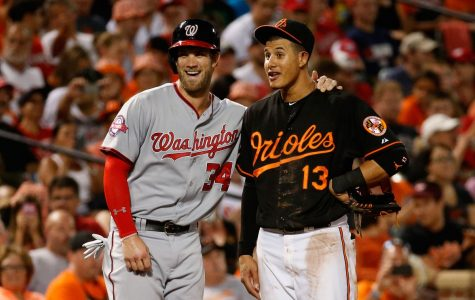 Bryce Harper (left) and Manny Machado (right) are the headliners of 2019 baseball free agency.