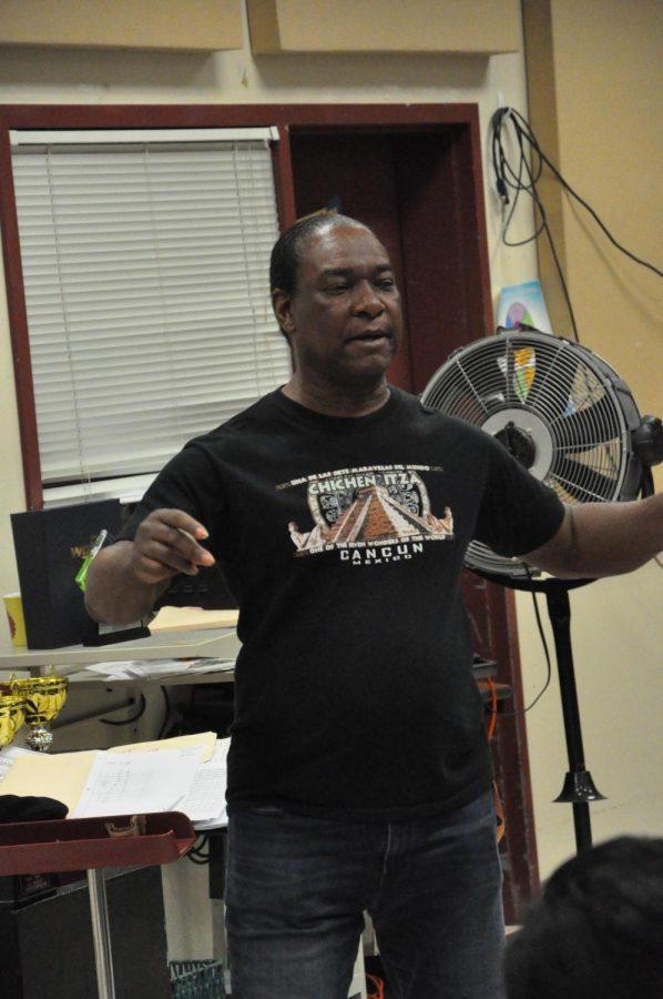 Mr. Coleman the CCHS band teacher.