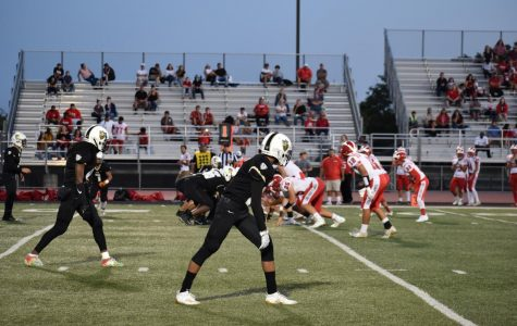 Chavez Titans face off against Lodi Flames in varsity football.