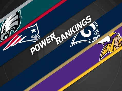 NFL Power Rankings Through October