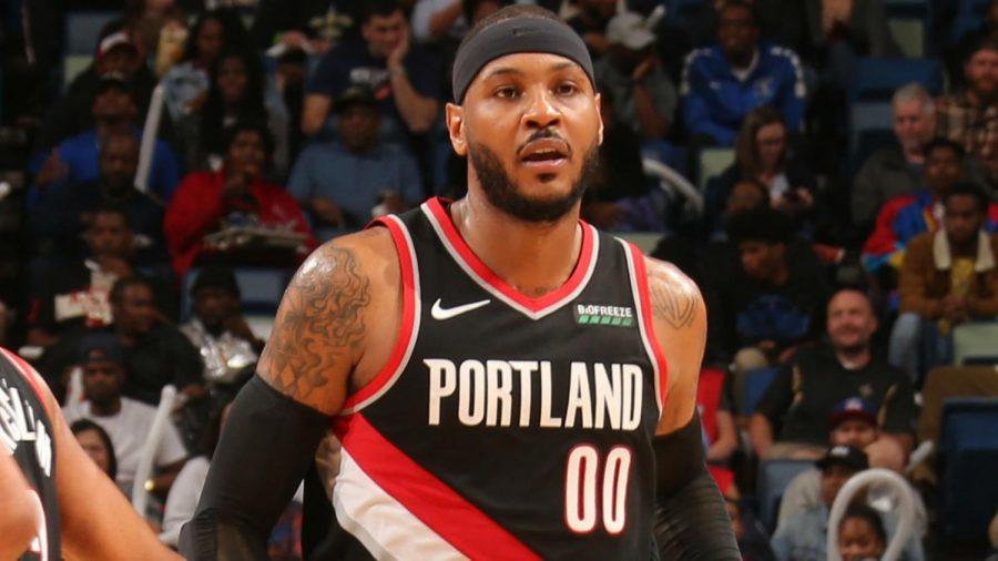 Carmello+Anthony+returns+to+the+NBA