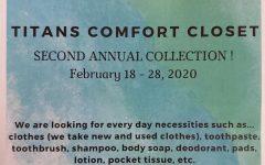 2nd Annual Titan Comfort Closet Drive
