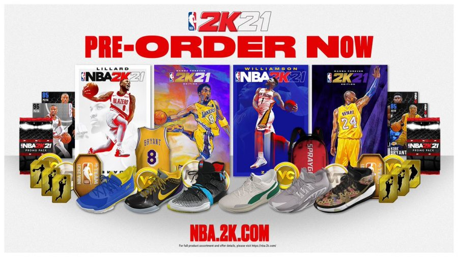 Info on NBA 2k21