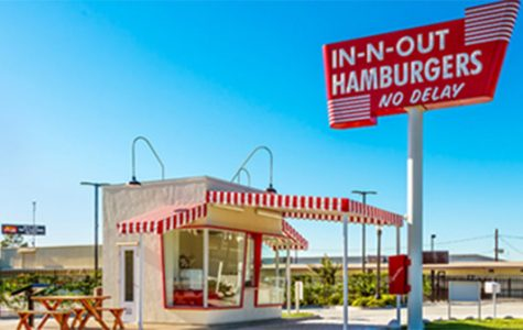 One of the original In n Out stands with No Delay.