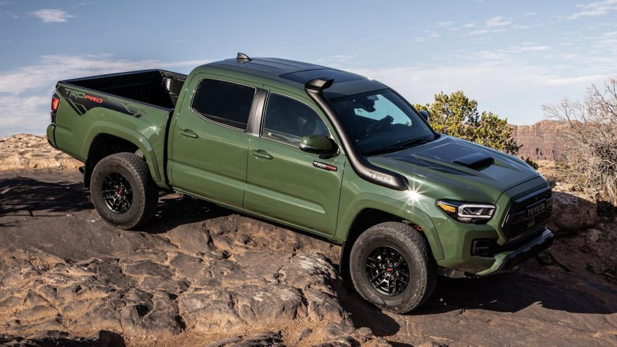 2020+Toyota+Tacoma+TRD+PRO+Review