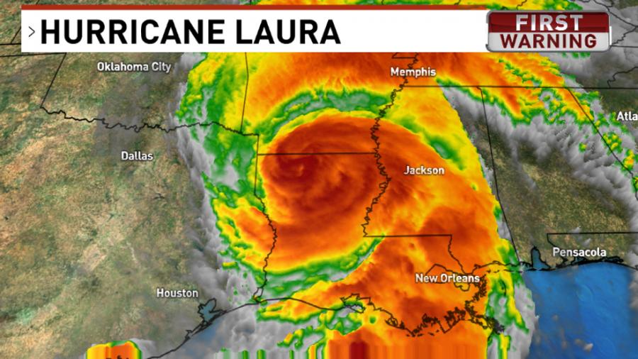 Hurricane+Laura+devastates+the+South+coast+of+the+U.S.