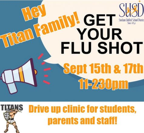 CCHS Flu Clinic Offering Vaccines