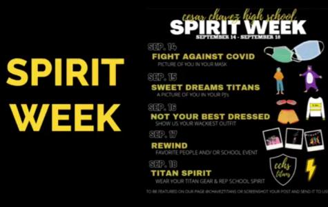 Spirit Week from a Distance