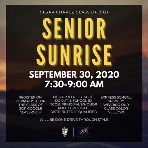 Senior Sunrise 2020