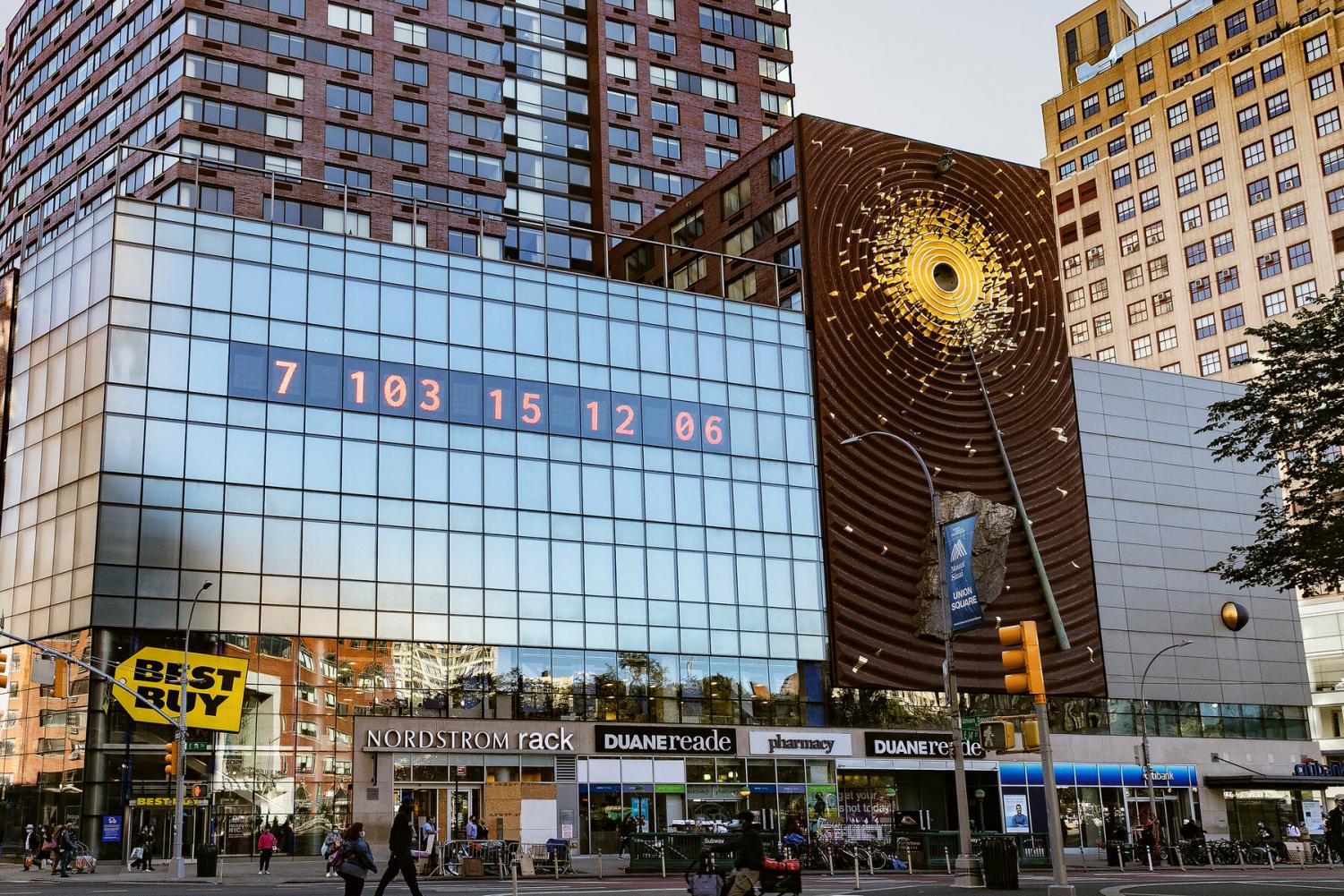 The NYC Climate Countdown Clock
