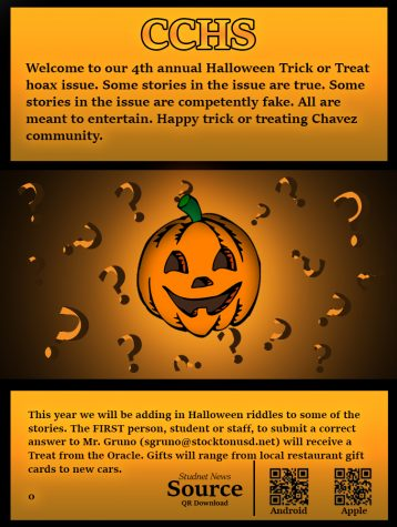 CCHS Halloween 4th Annual Trick or Treat Issue