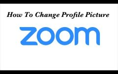 Change That Zoom Profile Picture