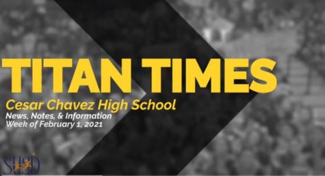 Student Announcements - Titan Times 2/1/21
