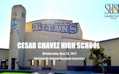 2021 Cesar Chavez High School Graduation