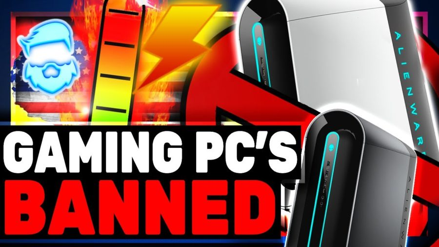 The banning of gaming PC'sin California